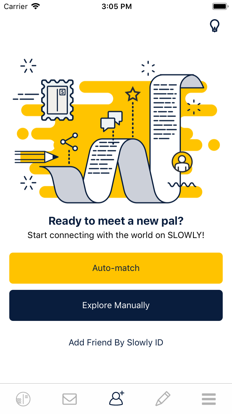 pen pal dating app